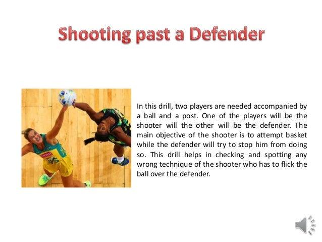 Fun Shooting Drill Shooting Tips: Netball Drills Tips