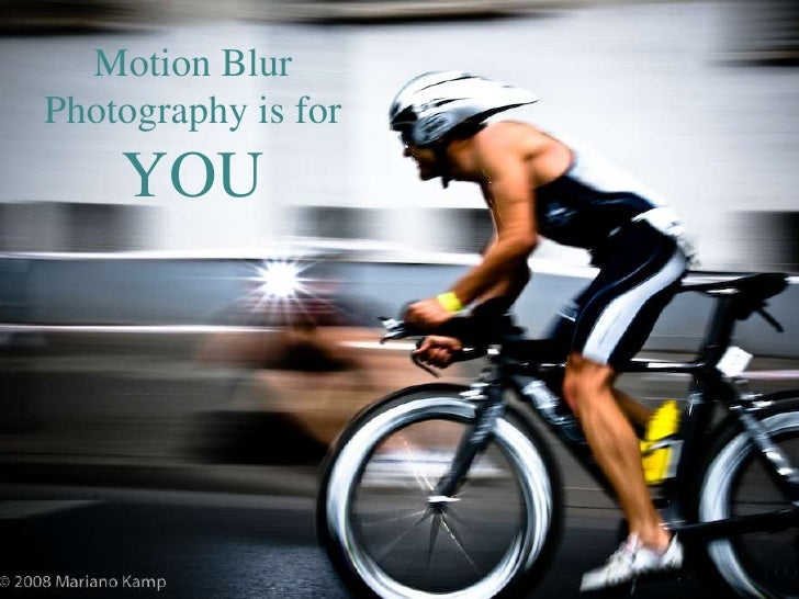 Motion Blur Photography is for YOU<br />