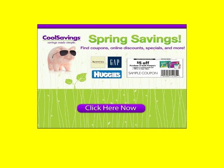 picture regarding Coolsavings Printable Coupons named Great financial savings- Interesting Financial savings Samples of Distinguished Producers