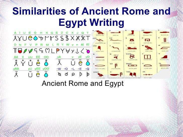 ancient egypt  ancient rome slideshow