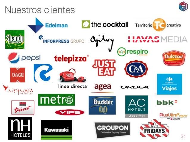 Nuestros clientes  21