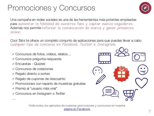 Promociones y Concursos Una campaña en redes sociales es una de las herramientas más potentes empleadas para aumentar la f...