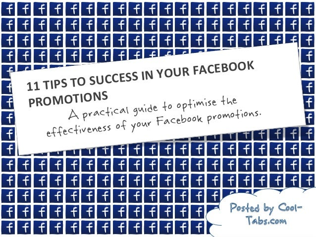 FACEBOOK         IPS TO SUCC ESS IN YOUR11 TPRO      MOTIONS                     o optimise the            ...