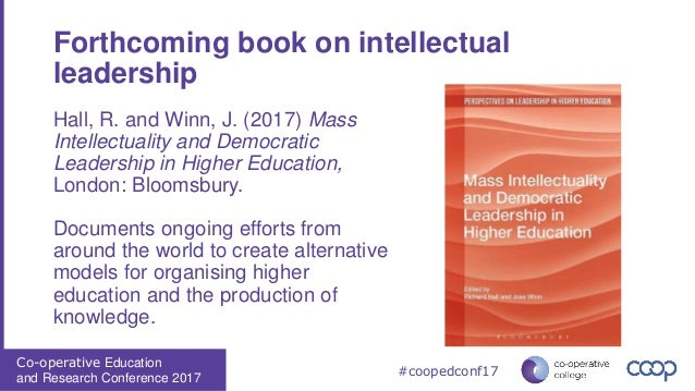Social co-operatives and the democratisation of higher education Slide 3