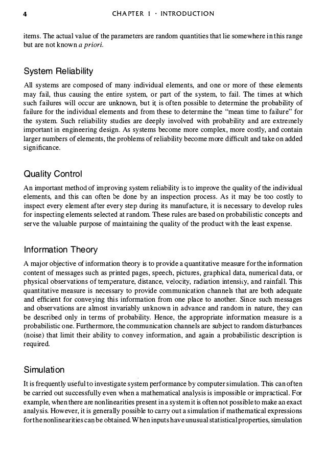 Probabilistic methods of signal and system analysis 3rd edition the more important 15 fandeluxe Choice Image