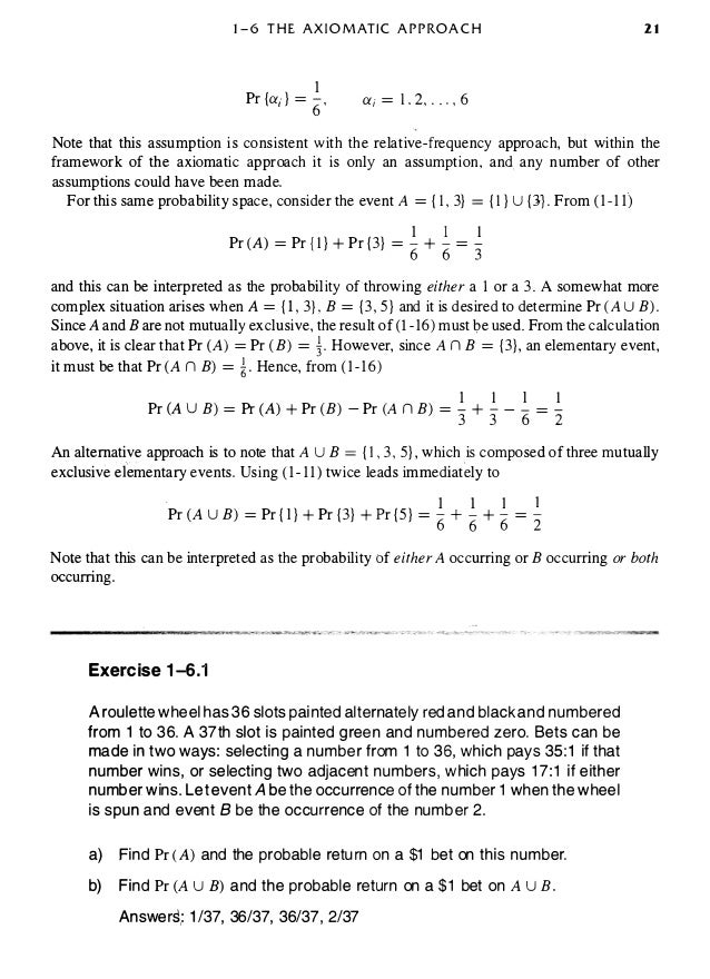 Probabilistic methods of signal and system analysis 3rd edition then the probability associated witheach is simply 32 fandeluxe Choice Image