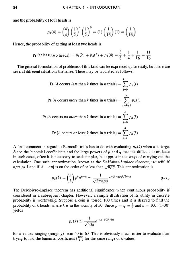 Probabilistic methods of signal and system analysis 3rd edition the prnbabiity of three heads is 45 fandeluxe Choice Image