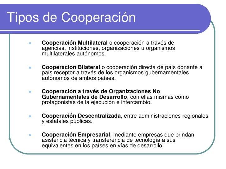 Cooperacion internacional - Tipos de calefaccion economica ...