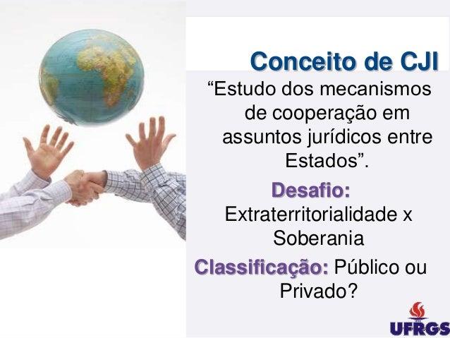 Cooperação jurídica internacional Slide 3