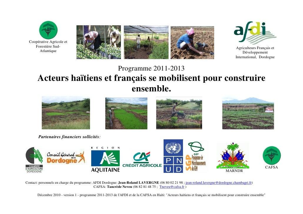 Coopérative Agricole et     Forestière Sud-                                                                               ...