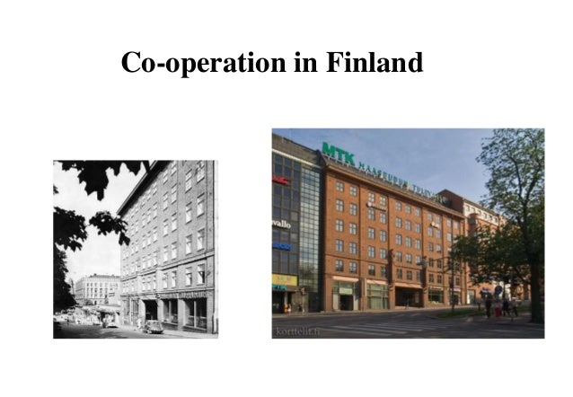 Co-operation in Finland