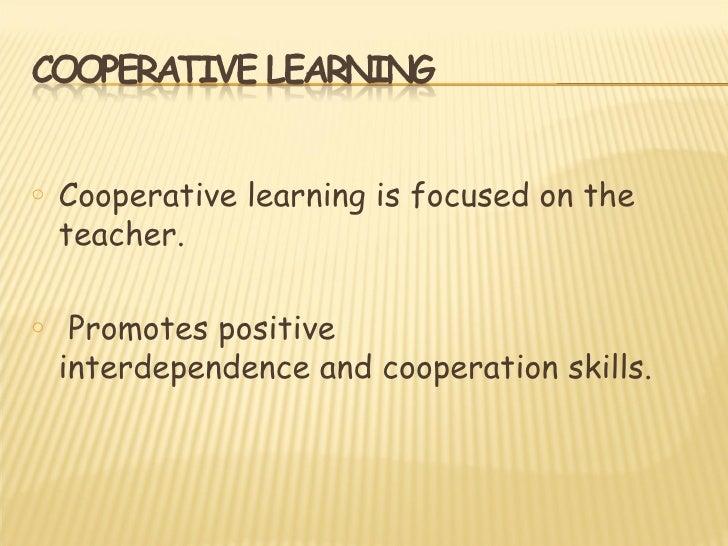 o   Autonomous Learning.o   Competitiveness becomes in stimulus.o   Lack of information.o   Selfish