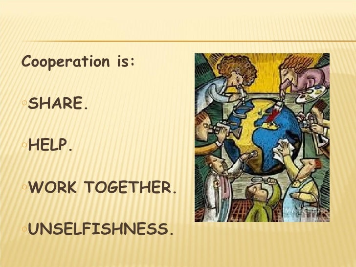 Cooperation vs Competition Slide 3