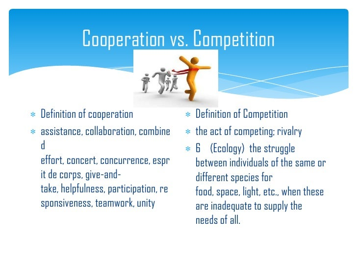 Competitive and Cooperative Approaches to Conflict