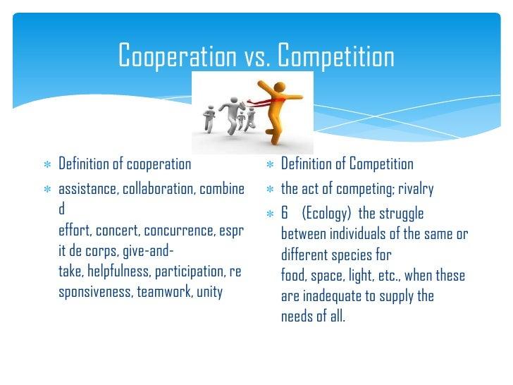 Competitive vs collaborative essay