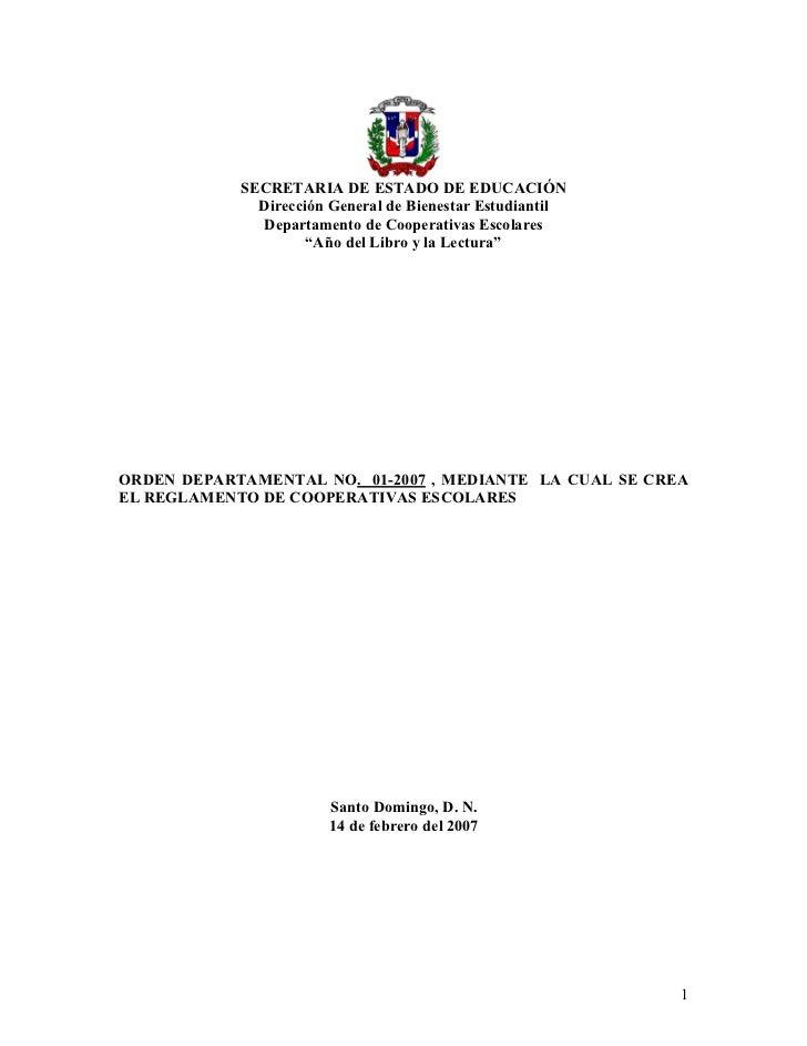 SECRETARIADEESTADODEEDUCACIÓN                 DirecciónGeneraldeBienestarEstudiantil                 Departament...