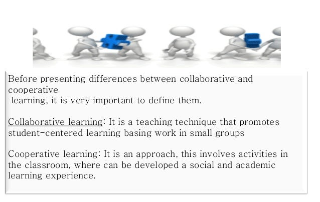 Collaborative Teaching Definition ~ Cooperative and collaborative learning