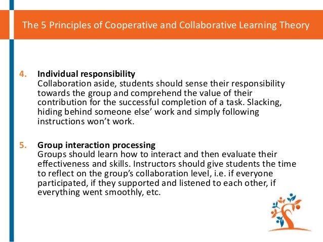 cooperative or collaborative learning a team Student team learning techniques are built on the  leadership between 1985 and 1991 can be found in cooperative learning and the collaborative.