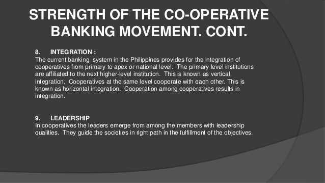 state of philippine cooperatives A model multipurpose cooperative in the cordillera region mission to instill  cooperative principles, values and enhance practices among its stakeholders to.