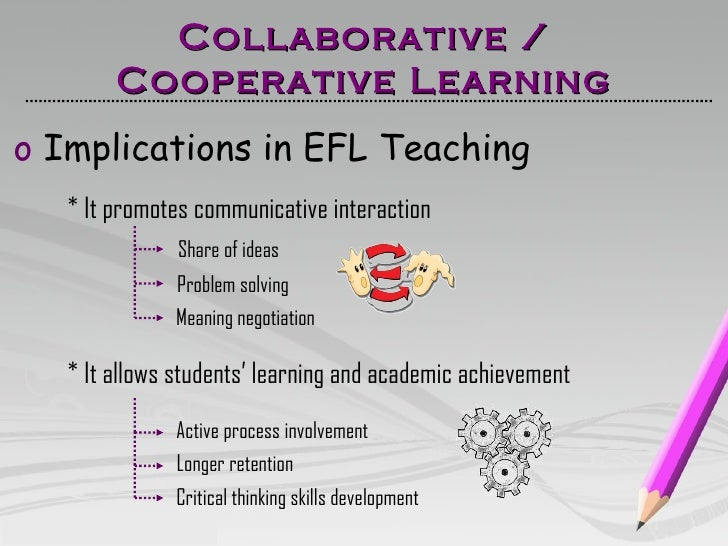 Collaborative Teaching Meaning ~ Cooperative collaborative