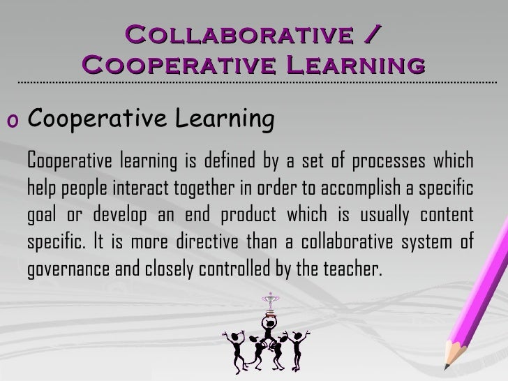 Teaching Collaborative Governance : Cooperative collaborative
