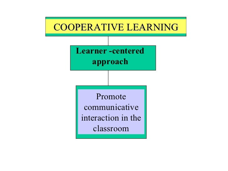 Collaborative Learning In The Classroom : Cooperative language learning approach