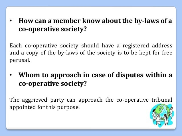 Co operative society