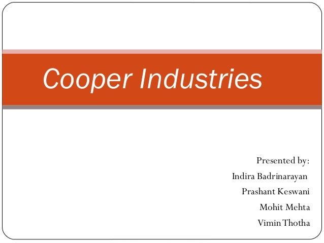 cooper industries inc case study analysis Cooper industries inc case solution,cooper industries inc case analysis, cooper industries inc case study solution, pricing of nicholson file company messrs, rector and cizik approached.