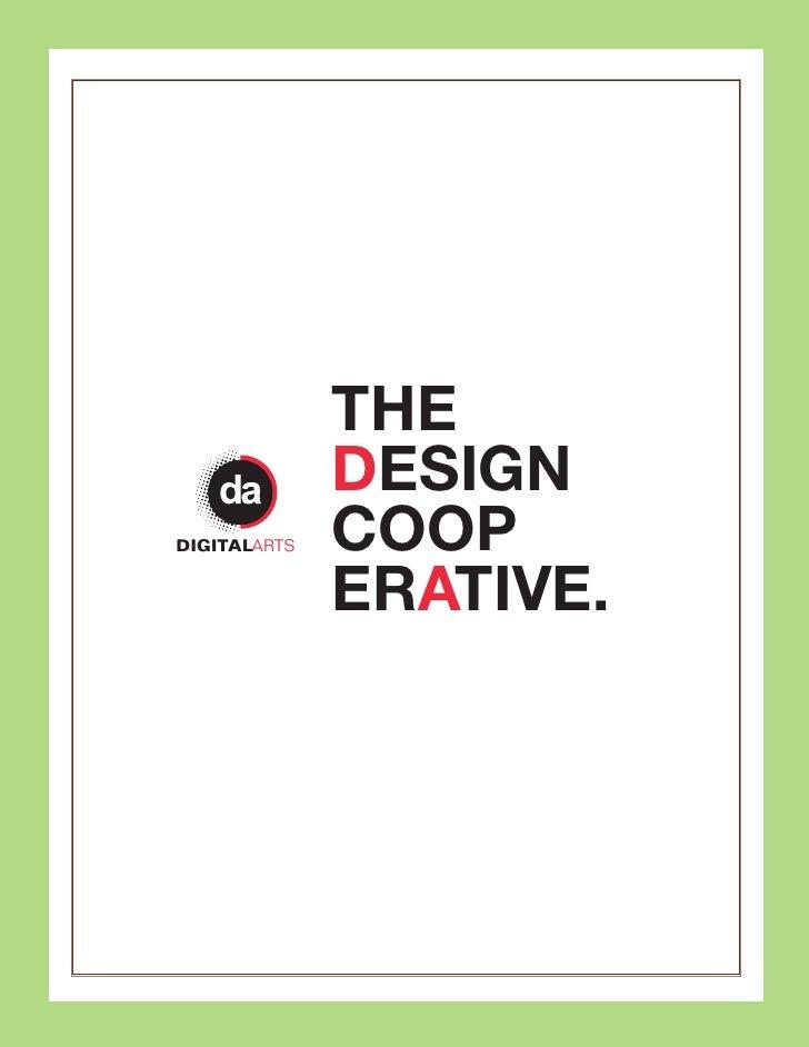 THE               DESIGN DIGITALARTS   COOP               ERATIVE.