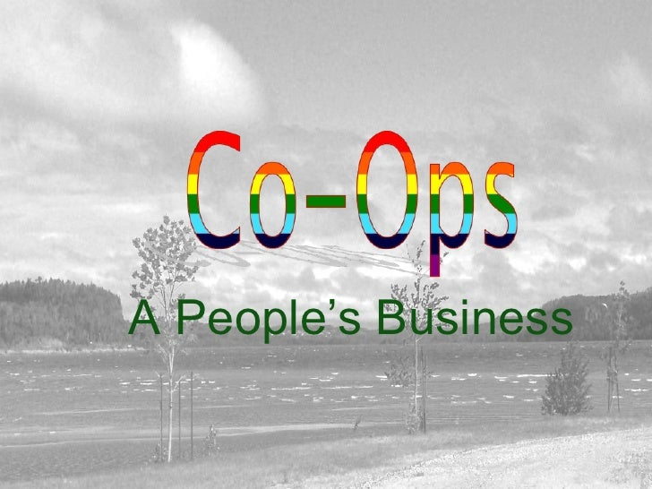 A People's Business