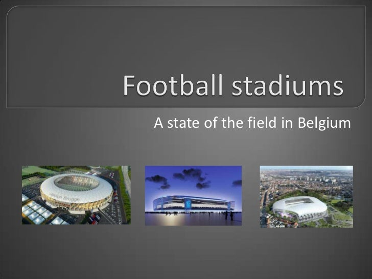 A state of the field in Belgium