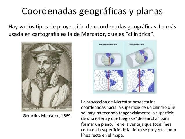Coordenadas geográficas y planas Slide 3