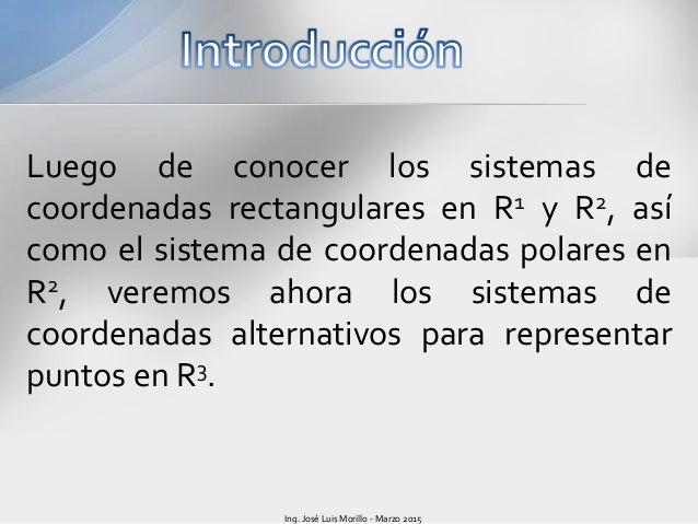 Coordenadas cilindricas y esféricas Slide 3