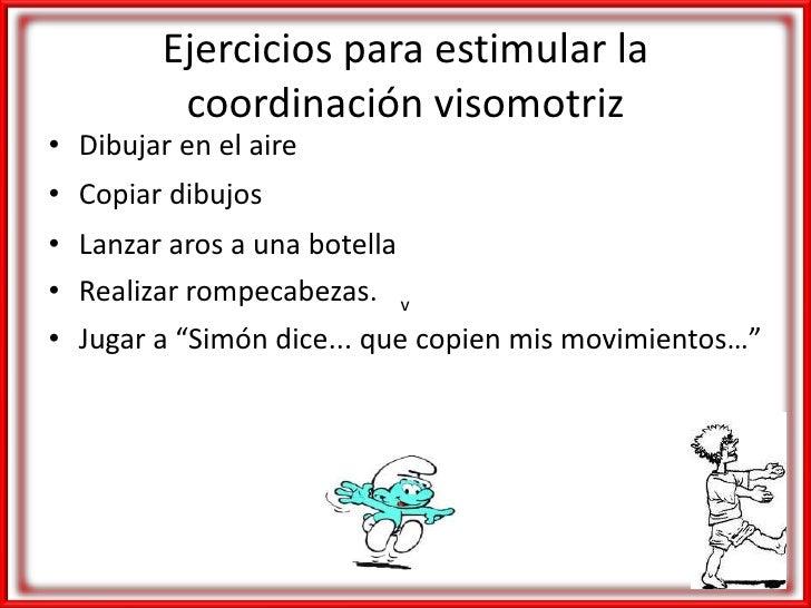 Ejercicios En Circuito Y Coordinacion : Coordinación visomotora