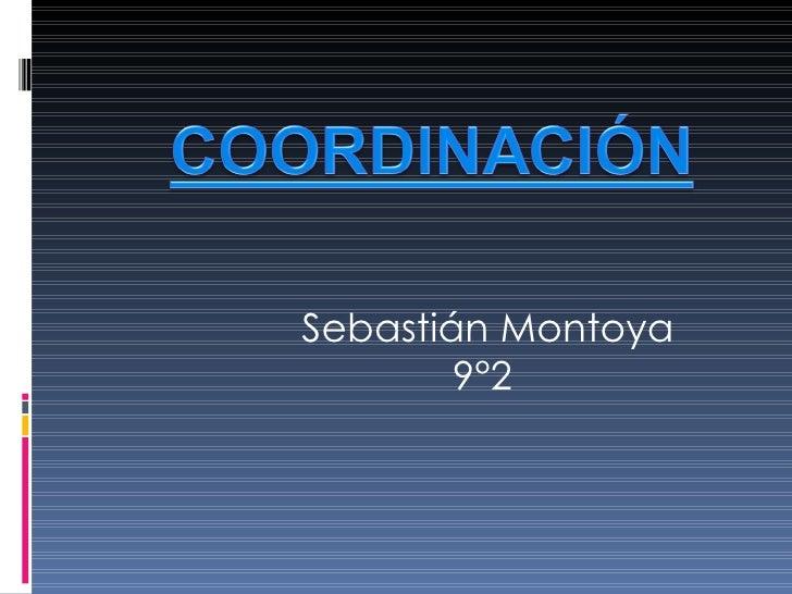 Sebastián Montoya 9°2