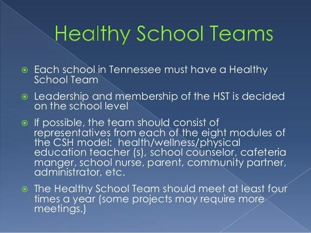 Coordinated school health overview Slide 3
