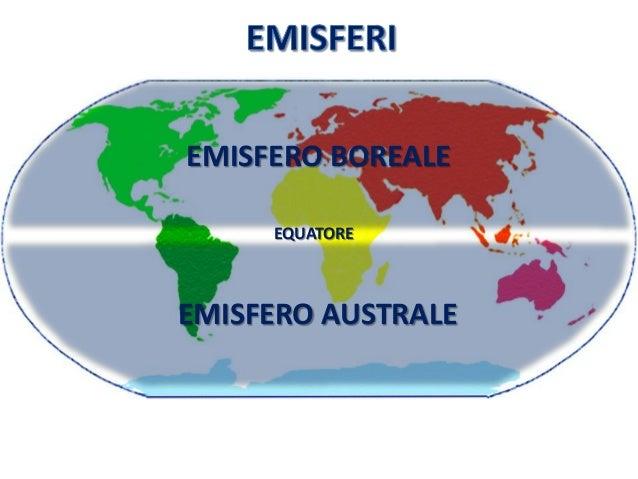 Risultati immagini per emisferi terrestri