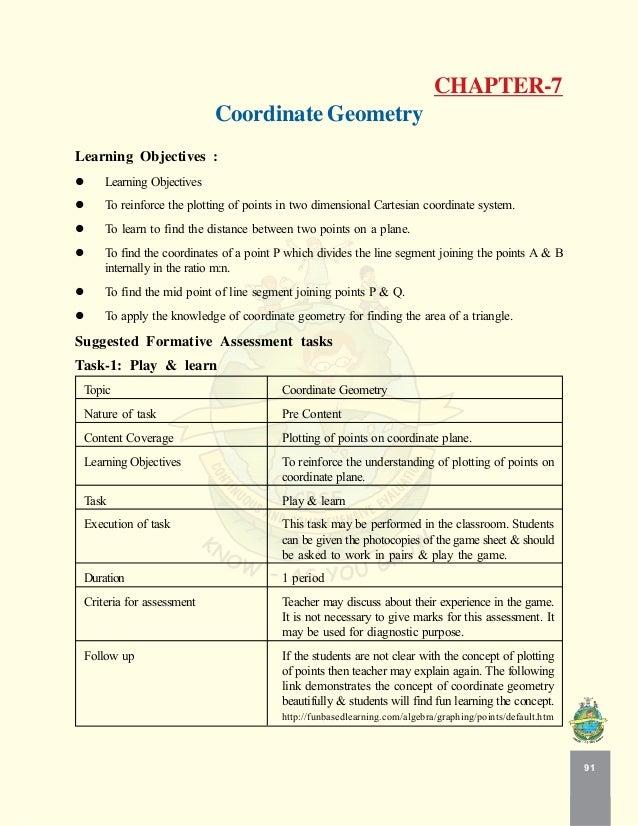Coordinate geometry – Coordinate Geometry Worksheet