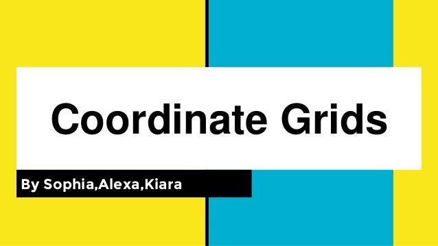 Coordinate Grids By Sophia,Alexa,Kiara
