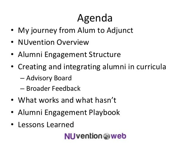 Coordinating an industry advisory board for an entrepreneurship course Slide 2