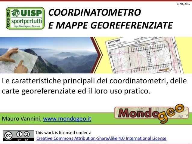 mappe georeferenziate
