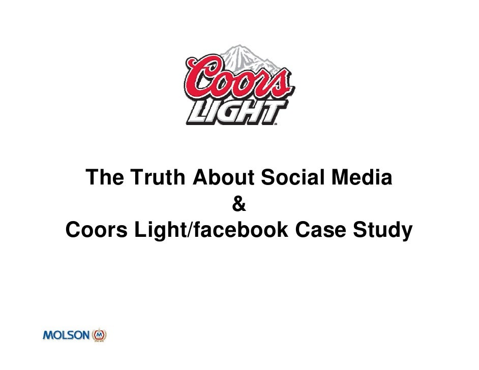 Coors distributor case study