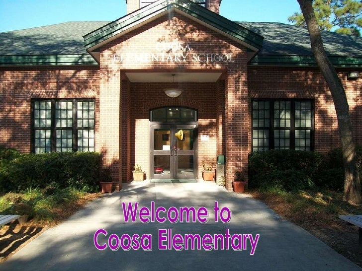 Welcome to Coosa Elementary