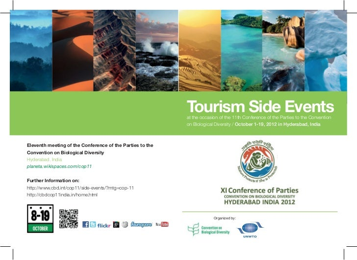 Tourism Side Events                                                           at the occasion of the 11th Conference of th...