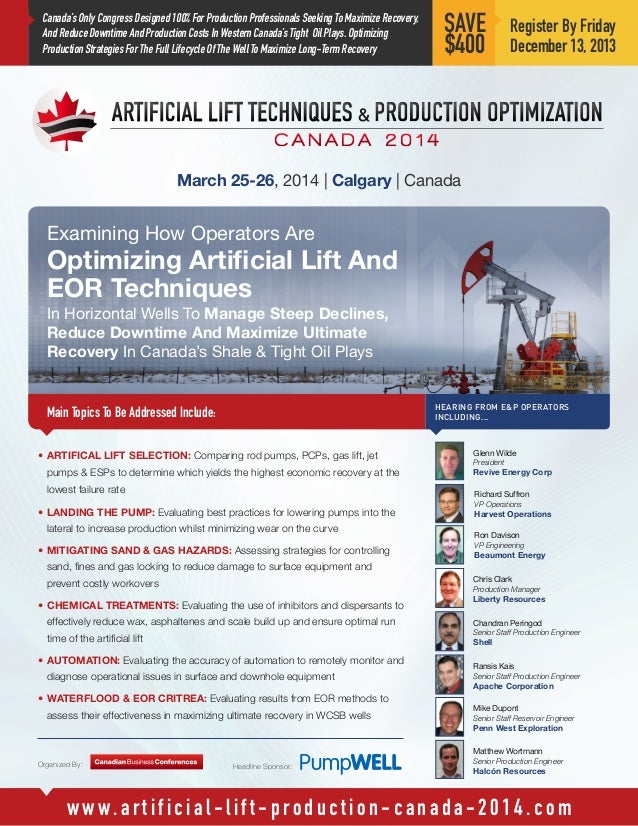 Artificial Lift Techniques And Production Optimization