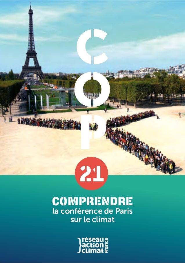 la conférence de Paris sur le climat Comprendre