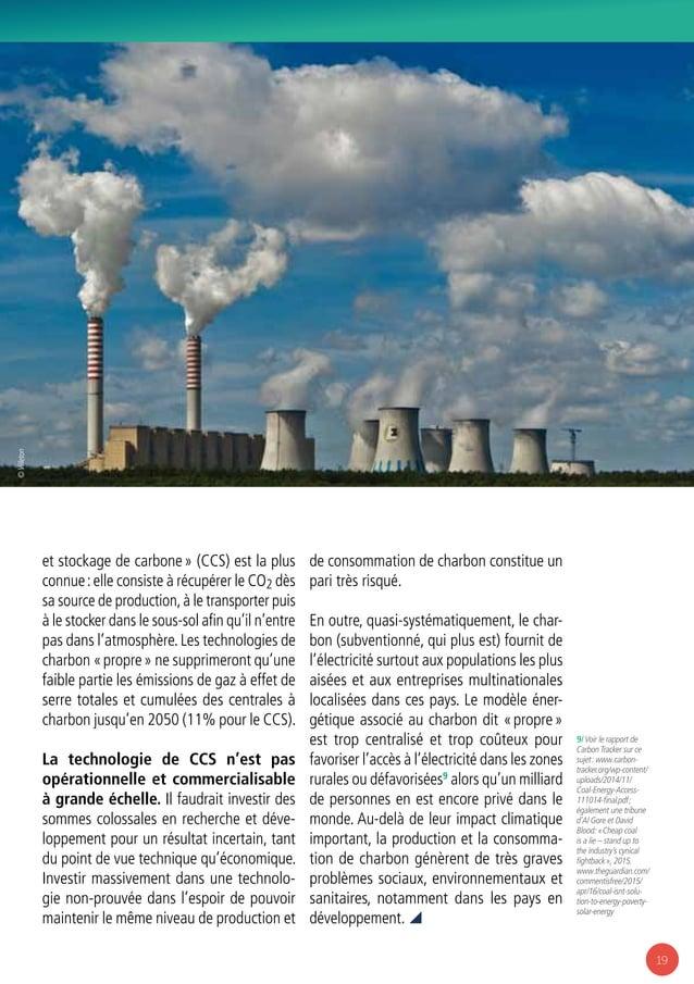 19 9/ Voir le rapport de Carbon Tracker sur ce sujet: www.carbon- tracker.org/wp-content/ uploads/2014/11/ Coal-Energy-Ac...