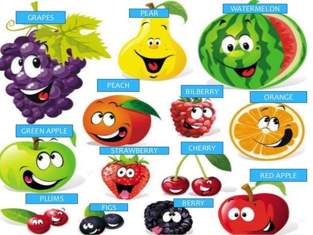 Ingles frutas