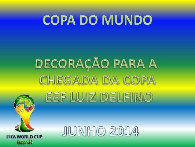 Copa do mundo luiz