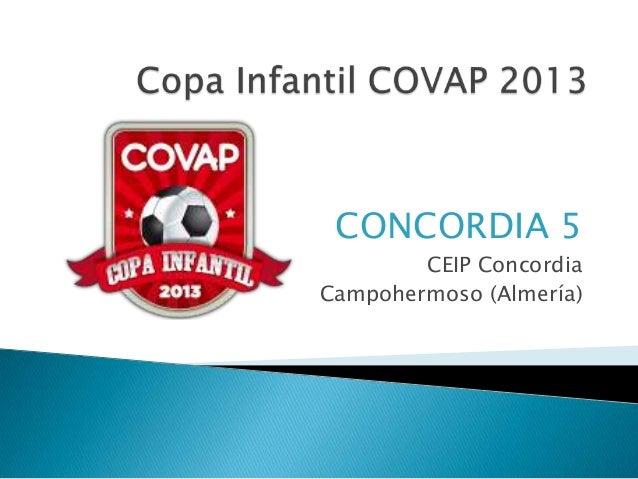 CONCORDIA 5CEIP ConcordiaCampohermoso (Almería)